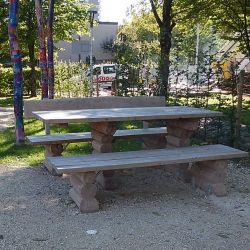 Picknick-Tisch-Sitzgruppe