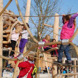spielplatz-tierpark-goldau-Spinnennetz